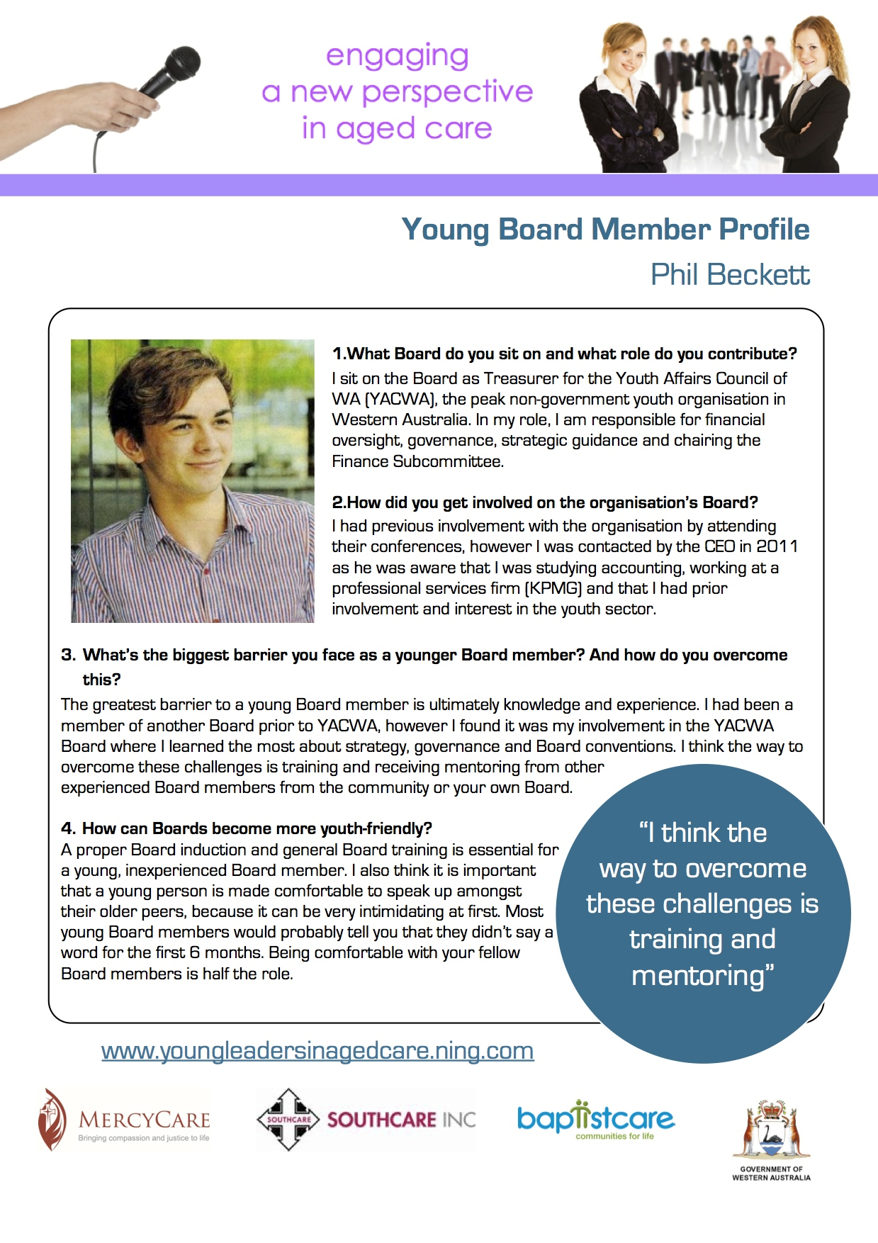 Resource 7 PhilBeckettYoungBoardMemberProfile
